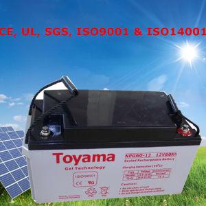 Lead Acid Storage Battery Solar Gel Battery 12V 65ah pictures & photos