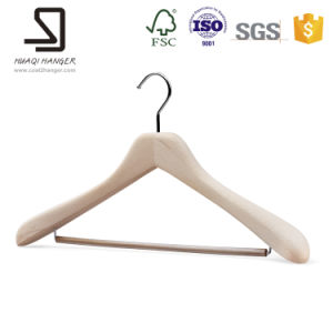 Wood Hanger for Suits and Pants pictures & photos