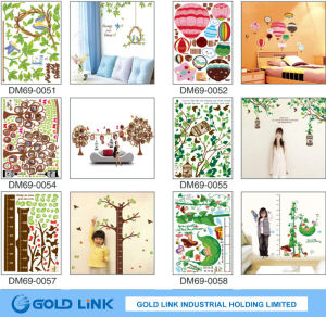 Removable PVC Decal Sticker/ Wall Sticker