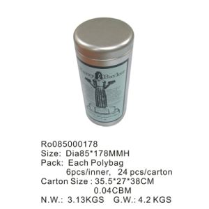 Hotsale Round Tea Tin Box with Competitive Price pictures & photos