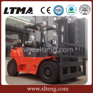 Ltma 5-7 Ton Gasoline LPG Forklift with EPA Approved pictures & photos