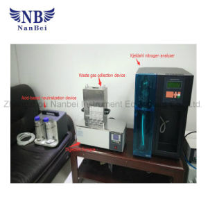 Automatic Kjeldahl Apparatus Protein Nitrogen Analyzer pictures & photos