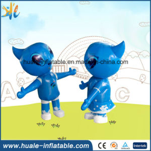 Oxford Cloth Customized Toy Inflatable Moving Cartoon for Advertising Event pictures & photos