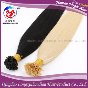 Cuticle Remy Virgin Flat Tip Prebonded Human Hair Weaving (PSTB-A255)
