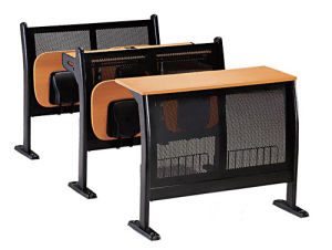 Education Furniture Double Table School Classroom Student Funrniture pictures & photos