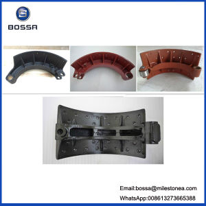 Auto Parts Motorcycle Parts Casting Brake Shoe for Nissan 220mm 178mm pictures & photos