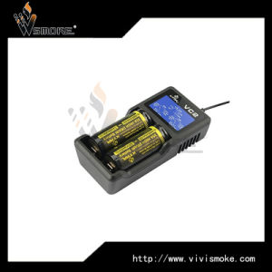 Two Bays 3.7V Battery Charger Xtar Vc2 New Coming Xtar Charger 18650 Charger pictures & photos