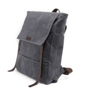 New Design Sport Fan Washed Canvas Backpack China Manufacturer (RS-K2033) pictures & photos