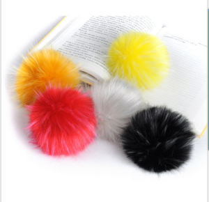 2015 Fake Raccoon Fur POM Poms/Balls pictures & photos