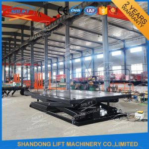 Portable Hydraulic Fixed Electric Scissor Car Parking Lift pictures & photos