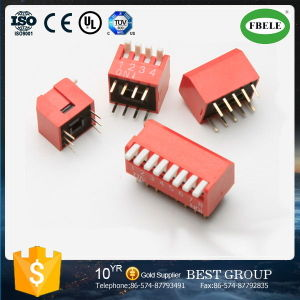 Top Level 1.27mm, 2.54mm Pitch DIP Switch & Tact Switch with Ce Certificated pictures & photos