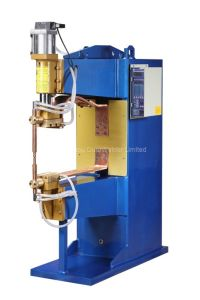 Pneumatic Stainless Weld Fasteners Projection Spot Welding Machine pictures & photos