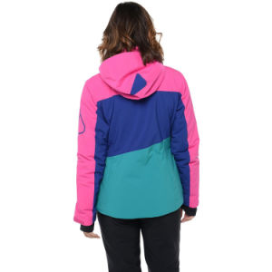 Womens Colourful Fashion Lightweight Primaloft Insulated Ski Jacket pictures & photos