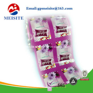 Custom Roll up Film Printed Packaging Stretch Film for Automatic Packaging Machine pictures & photos