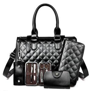 Hige Quality 4PCS Set Bags fashion Bag Leather Designer Handbag (XM0213) pictures & photos