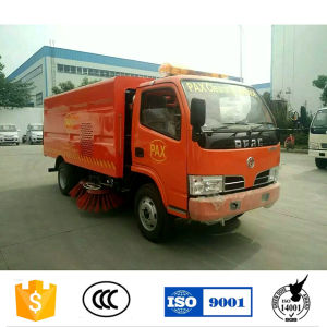 Dongfeng Right Hand Drive Road Sweeper Truck for Sale pictures & photos