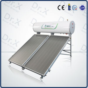 Good Quality Flat Plate Collector Solar Water Heater pictures & photos