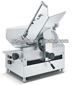 13 Inch Electric Automatic Meat Slicer/Frozen Meat Chunk Slicer pictures & photos