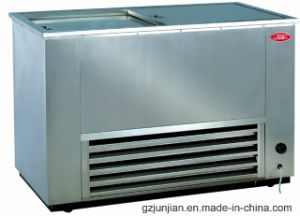 Stainless Steel Chest Freezer Soda Pop Fridge for Beer Beverage pictures & photos