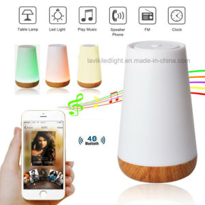 Portable Wireless Bluetooth Speakers LED Table Lamp