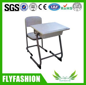 High Quality PP Single Desk and Chair (SF-59S) pictures & photos