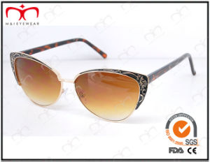 Fashionable Hot Selling UV400 Protection Metal Sunglasses (KM15027) pictures & photos