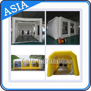 Portable Inflatable Car Paint Booth / Inflatable Spray Booth for Repair and Repaint for Full Car pictures & photos