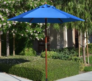 10FT Wood Outdoor Beach Patio Pool Umbrella Parasol Crank Tilt pictures & photos