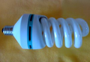 Full Spiral CFL Energy Saving Lamp (VLC-FS-55W) E27 pictures & photos