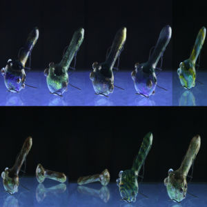 Colorworks Glass Spoon Pipes for Wholesale with Many Colors (ES-HP-059) pictures & photos