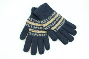 Knitted Acrylic Warm Jacquard Magic Gloves/Mittens