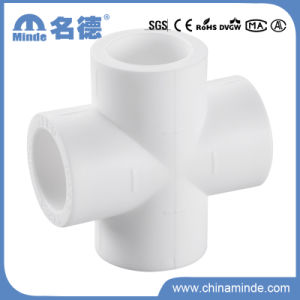 PPR Cross Piece Fitting for Building Material pictures & photos