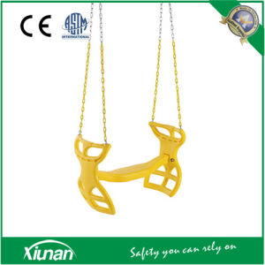 Dual Ride Glider Swing Seat Tandem with Chain pictures & photos