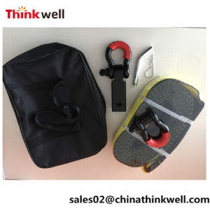 off-Road Winch Accessory Tow Belt Recovery Kit pictures & photos