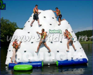 Water Park Inflatable Water Tower, Inflatable Climbing Iccberg Tower D3032 pictures & photos