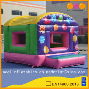 Colorful Balloon Inflatable Mini Bouncer (AQ02303) pictures & photos