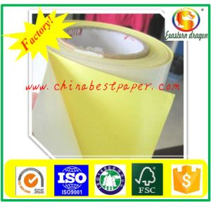 Silicone Release Paper 62g-Yellow Base Paper pictures & photos