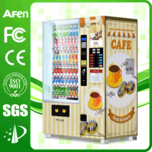 Hot! Coffee Drink Combo Vending Machine pictures & photos