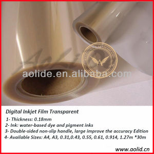 Quality High Transparent Inkjet Pet Film pictures & photos