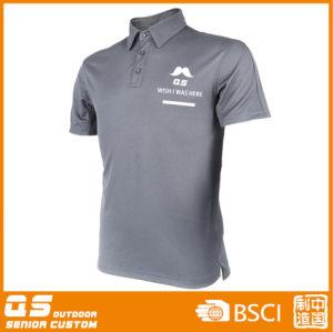 Men′s Fashion Polo Chest Print T-Shirt pictures & photos