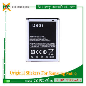 2500mAh Cell Phone Battery for Samsung Note1 N7000 3.7V Battery pictures & photos