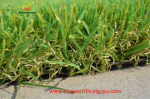 Good Quality Artificial Grass for Villa with Svhc Test pictures & photos