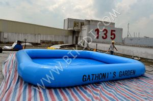 Durable Outdoor 0.9mm PVC Inflatbale Swimming Pool D2046 pictures & photos