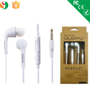 3.5mm Mobile Phone Earphone for Samsung S4 pictures & photos