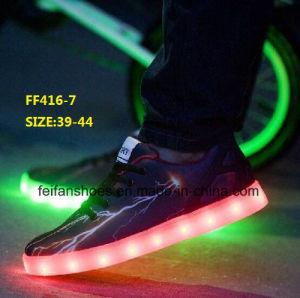 New Design Men Fashion LED Light Shoes Sport Shoes (FF416-7) pictures & photos
