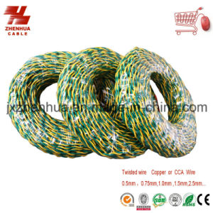 Electrical Twisted Wire Copper Conductor PVC Insulated Cable Rvs pictures & photos