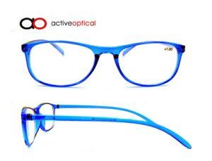 New Design Fashion Plastic Reading Glasses in Tr90 (YF15167)