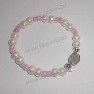 Wholesale Cheap Pink Pearl Beads Rosary Bracelet pictures & photos