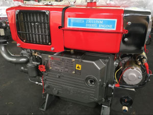 4-Stroke Small Single Cylinder Marine Water Cooled Diesel Engine (Zs1115 20HP) pictures & photos