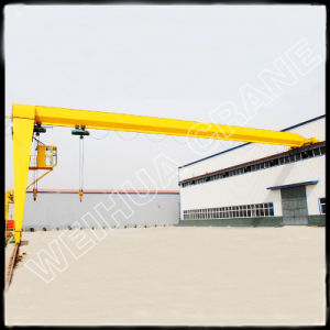 Bmh2t-16t Electric Hoist Semi Gantry Crane